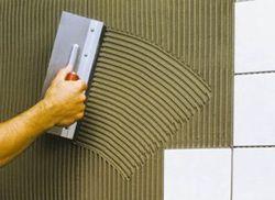 Как узнать расход клея для плитки?