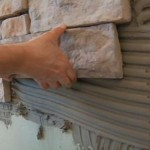 Выбираем клей для искусственного камня
