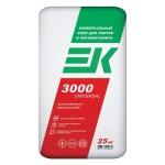 Используем плиточный клей ЕК 3000
