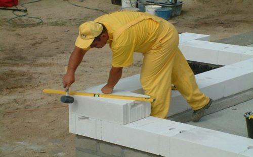 Клей для газосиликатных блоков