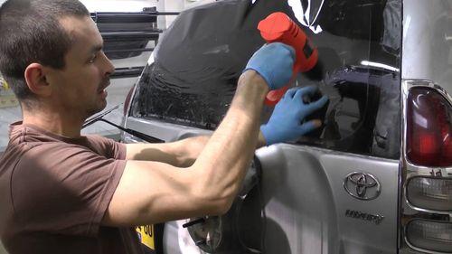 Как клеить тонировку на машину