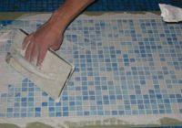 Клей для стеклянной мозаики