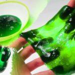 Что получится, если смешать клей ПВА и тетраборат натрия