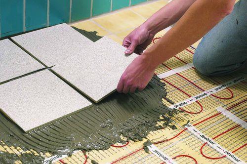 Поклейка керамической плитки