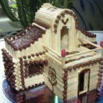 Инструкция как сделать спичечный домик с клеем