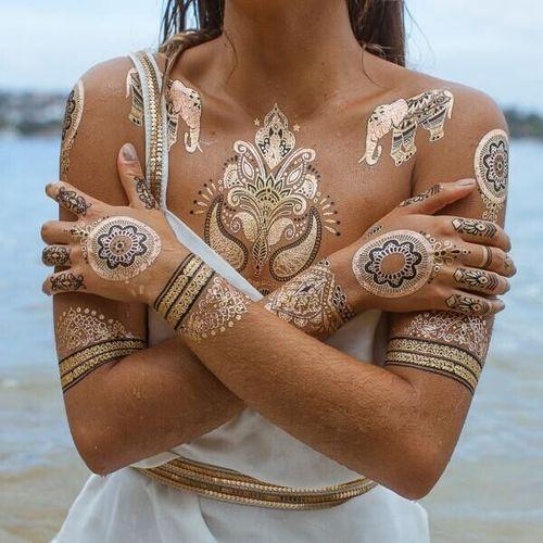 Аэрографическая татуировка