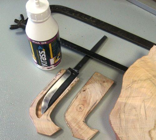 Склеивание дерева и железа